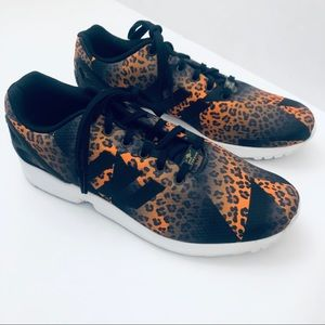 Adidas Torsion Flux Animal Print Leopard Cheetah